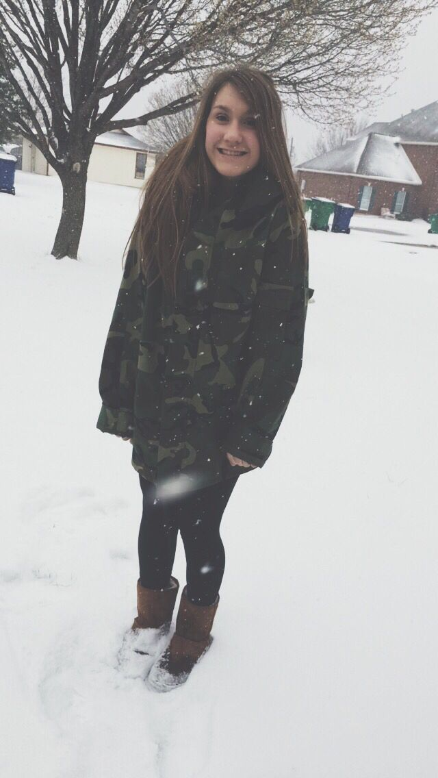 Snowy days in Texas