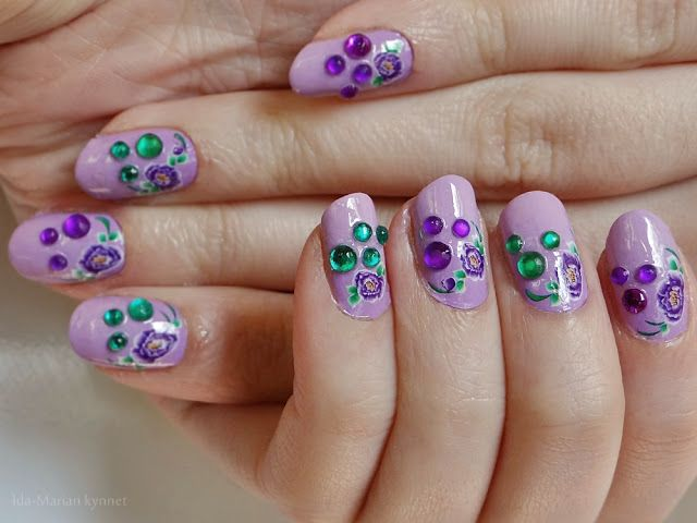 green & violet