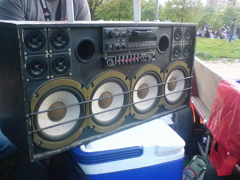 from germany a diy custom boombox