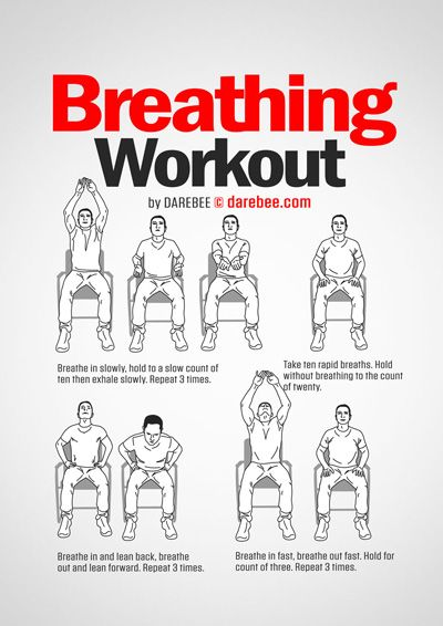 Visual Workouts Desk Workout Exercise Workout