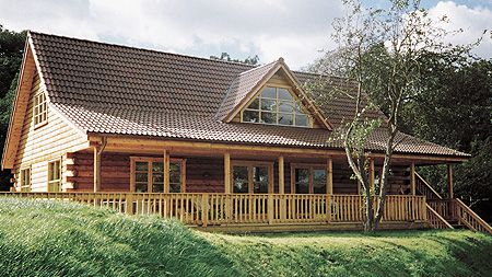 This site has a ton of amazing log cabin floor plans