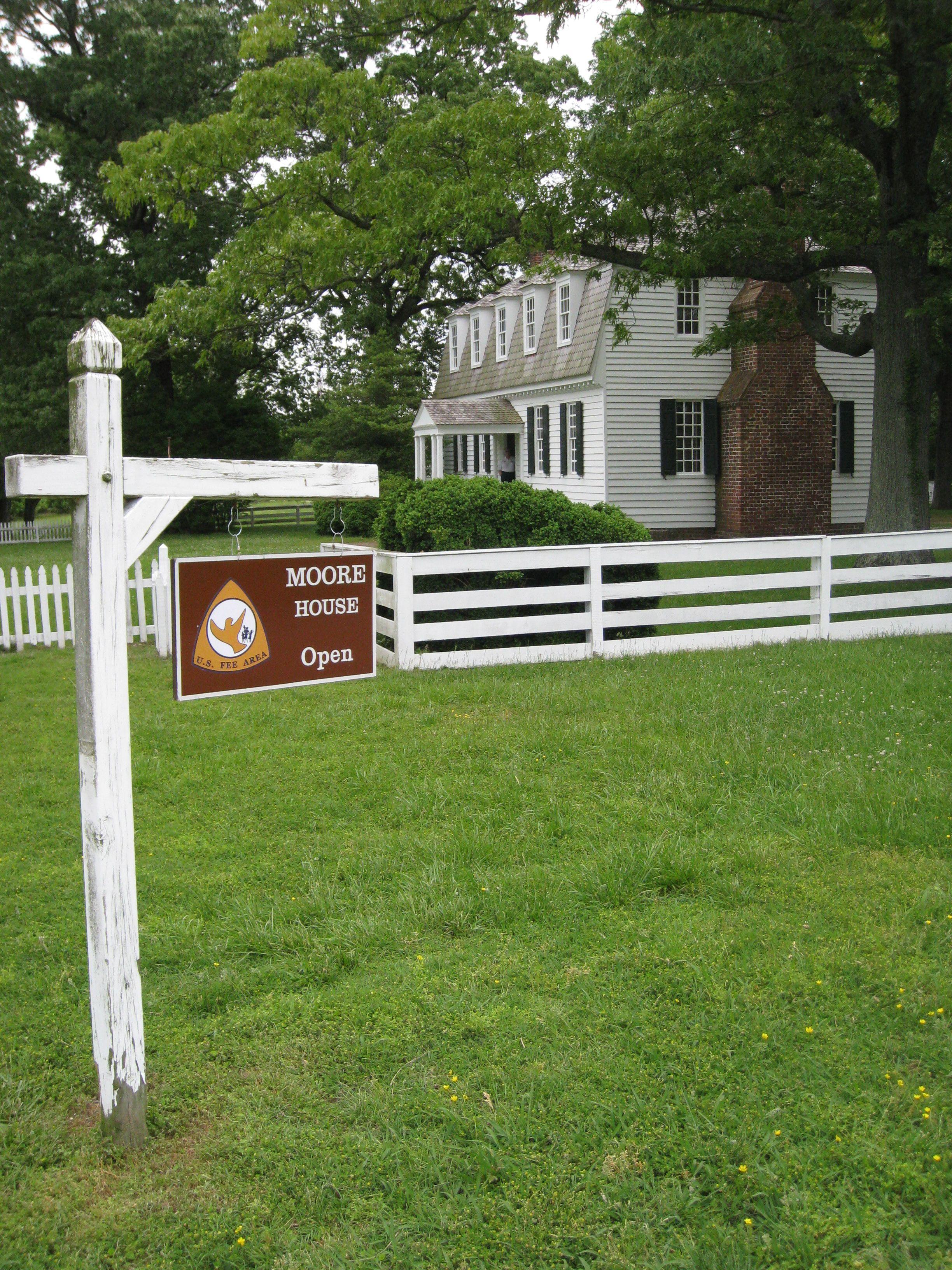 Yorktown Virginia Virginia Is For Lovers Yorktown Battlefield Moore House