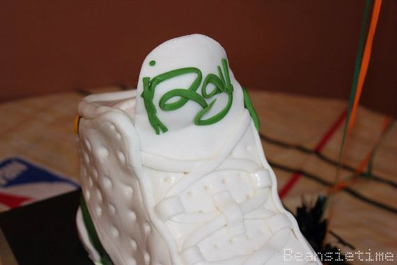 Air Jordan XIII  Ray Allen  Sneaker Cake - SneakerNews.com  6cea520239