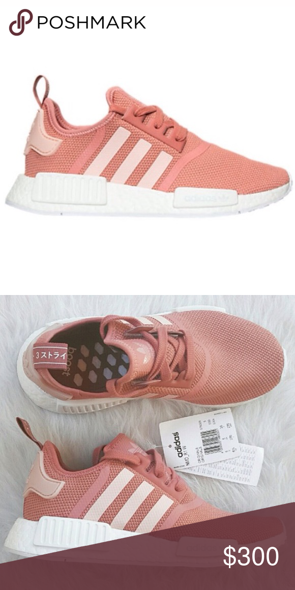 official photos cbe81 3065d Pink Nmd, Pink Adidas, Adidas Sneakers, Adidas Nmd R1, Search, Salmon