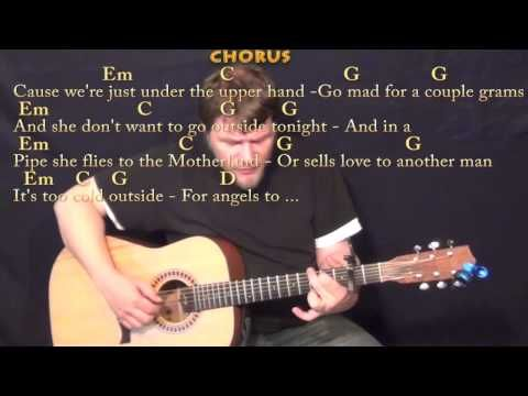 The A Team Ed Sheeran Fingerstyle Guitar Cover Lesson With Chords