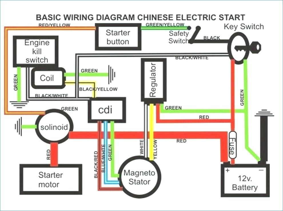 image result for wiring diagram for taotao 110cc atv Taotao Ata 50 Wiring Diagram cableado gy6 lovely excellent 4 pin cdi