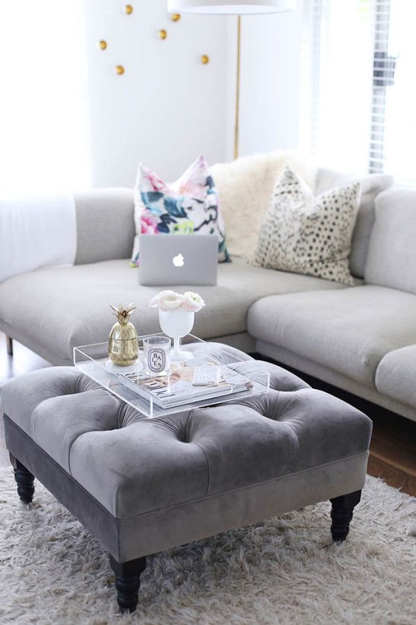 5 Blogger Coffee Tables To Copy Coffee Living rooms and Trays