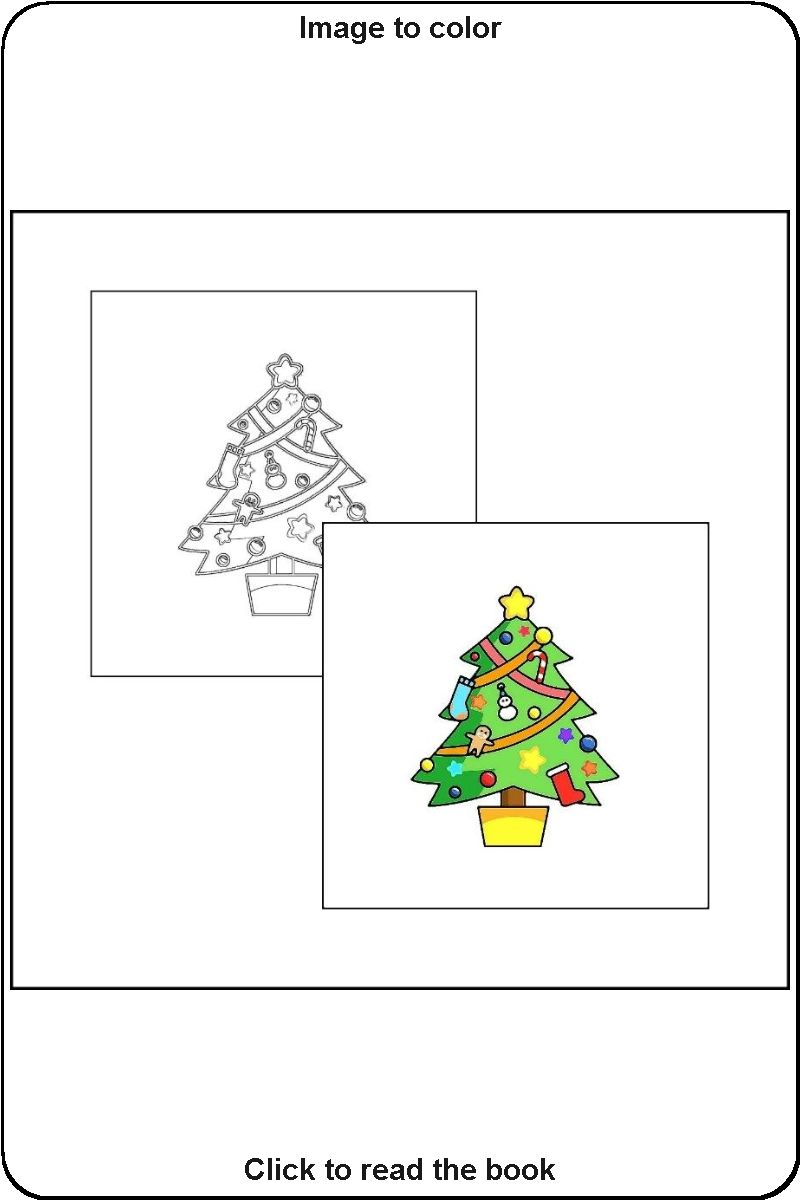 023 Sample Drawing From The Book Coloring Book With Christmas Christmas Coloring Books Toddler Coloring Book Coloring Books