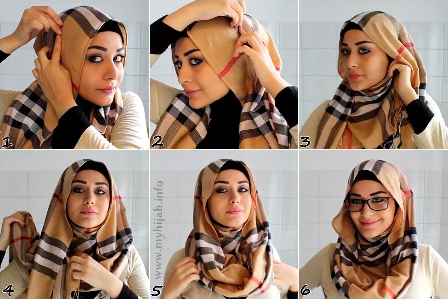 Hijab Styles For Round Faces With Glasses Styles Hijab Fashion