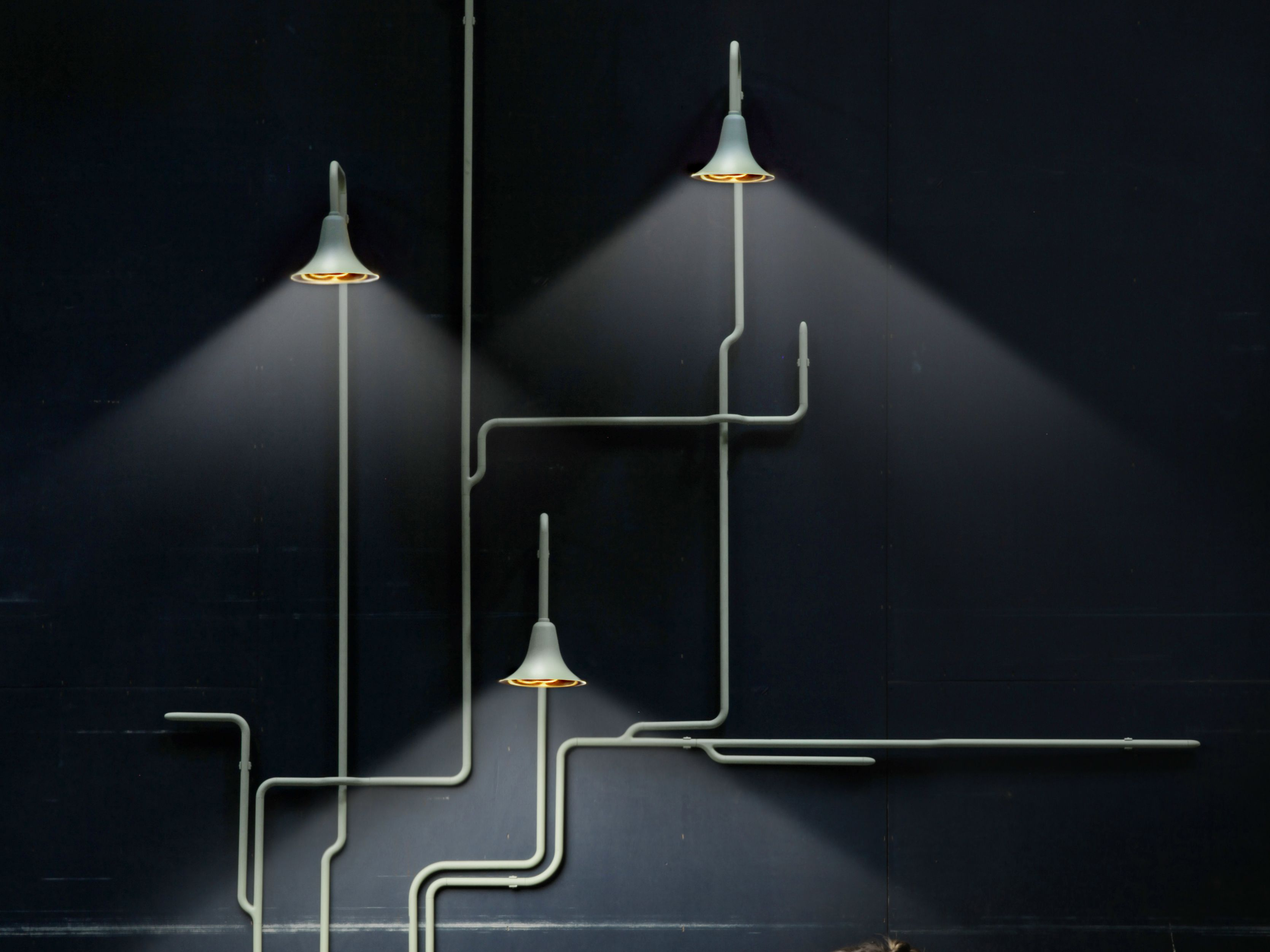 74cd13a05eabc1 Applique en métal Collection Light forest by GALLERY S.BENSIMON | design  Ontwerpduo