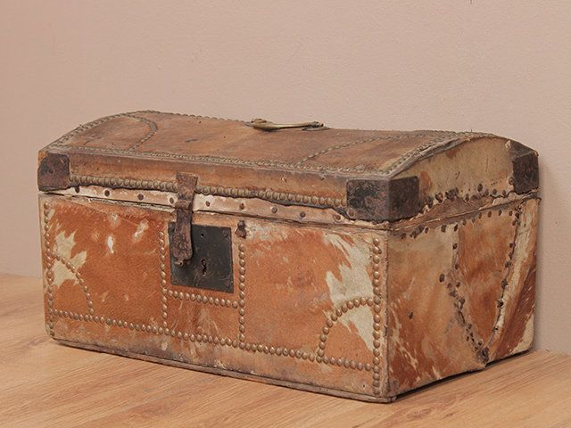 View Our Antique Georgian Travel Trunk From The Old Wooden Chests, Trunks U0026  Boxes Collection
