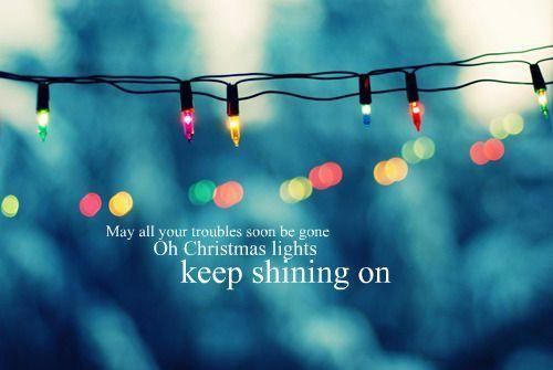 Christmas Lights Good Song Christmas Lights Bokeh Image