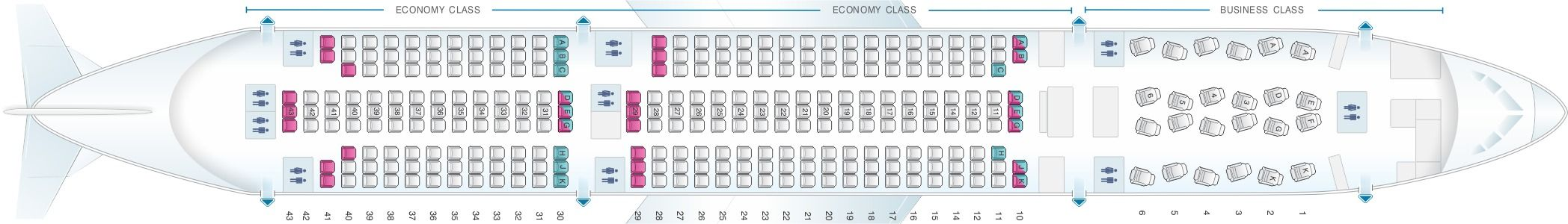 Asiana Airlines Fleet Boeing 777200ER Details and Pictures