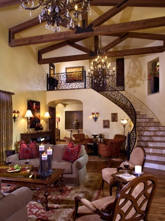 Tuscan Design Pictures Remodel Decor And Ideas Page 12 Mediterranean Living Rooms Tuscan Living Rooms Mediterranean Home Decor
