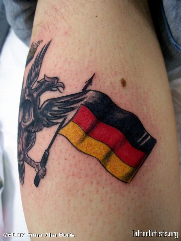german tattoo shop significations of german tattoo pinterest rh pinterest com german flag tattoo pics german flag tattoo designs