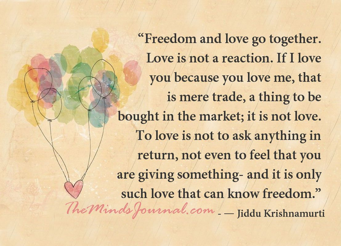 JIDDU KRISHNAMURTI ON LOVE PDF