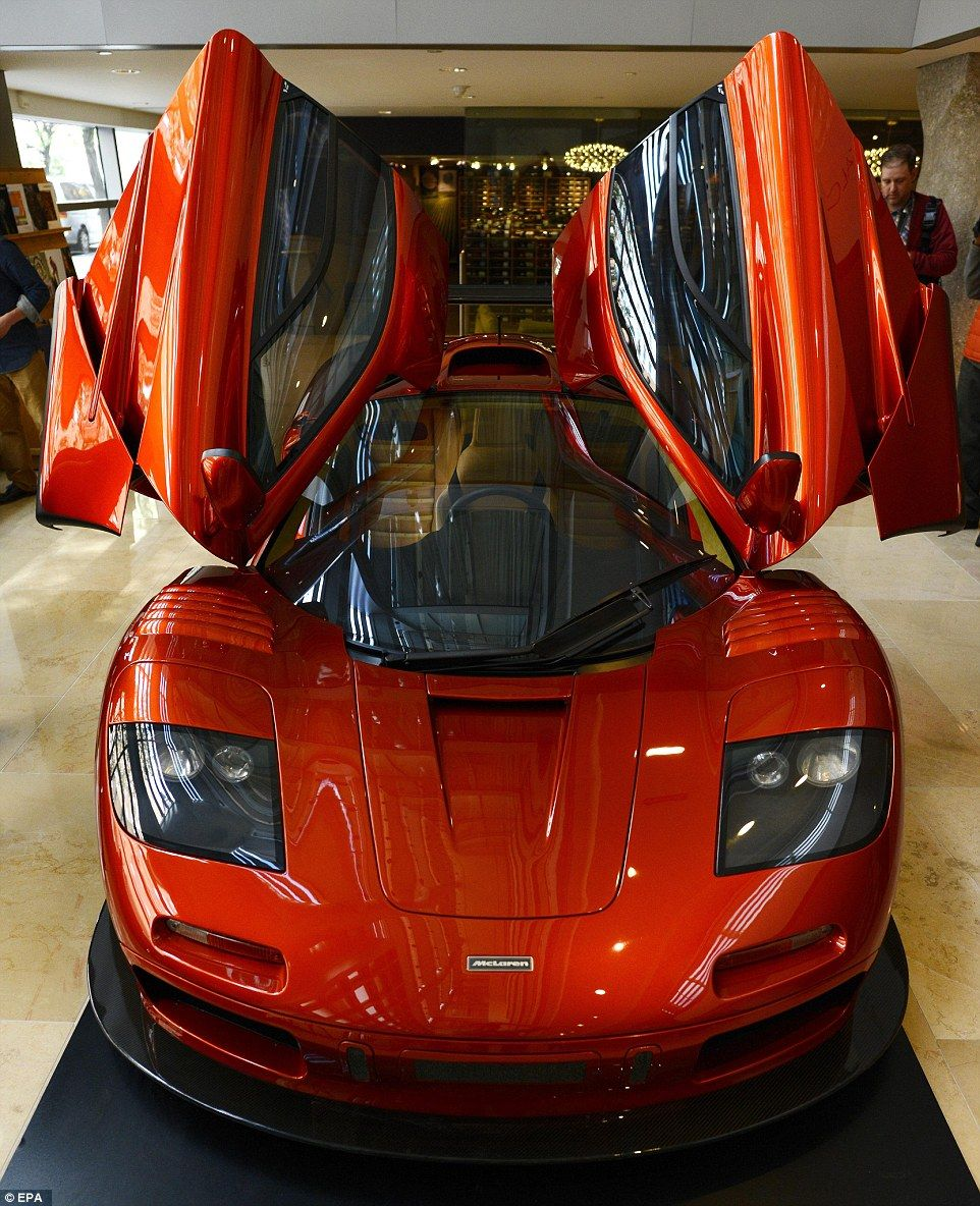 Rare red McLaren F1 expected to fetch over 12million at