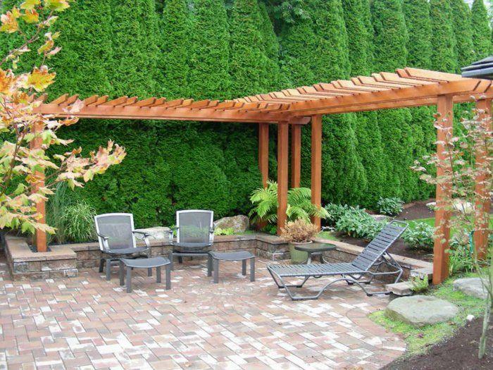 Garten Pergola gestalten - 50 Ideen für Ihre sommerliche ...