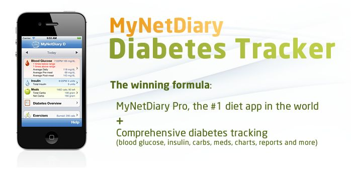 Diabetes Tracker is the best iPhone diet app