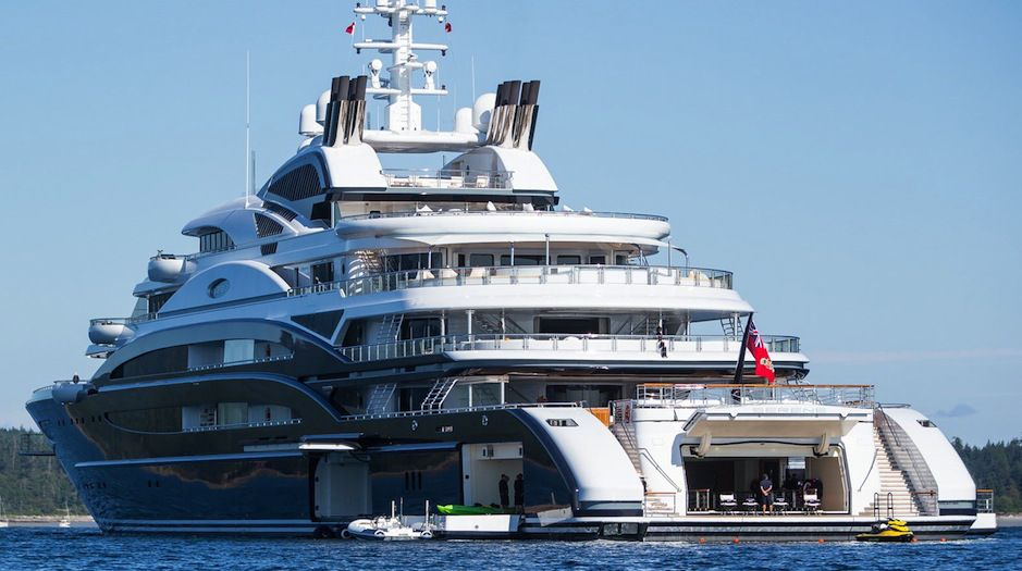 Russian Super Yacht Serene In B C Canada S Waters Hotels And Spas
