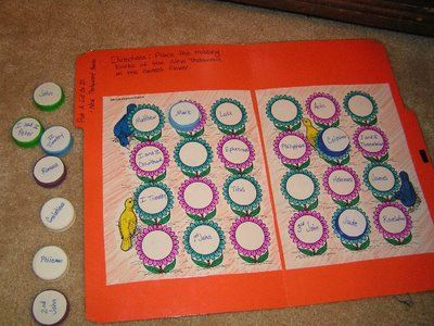 Milk jug lid books of the Bible game.