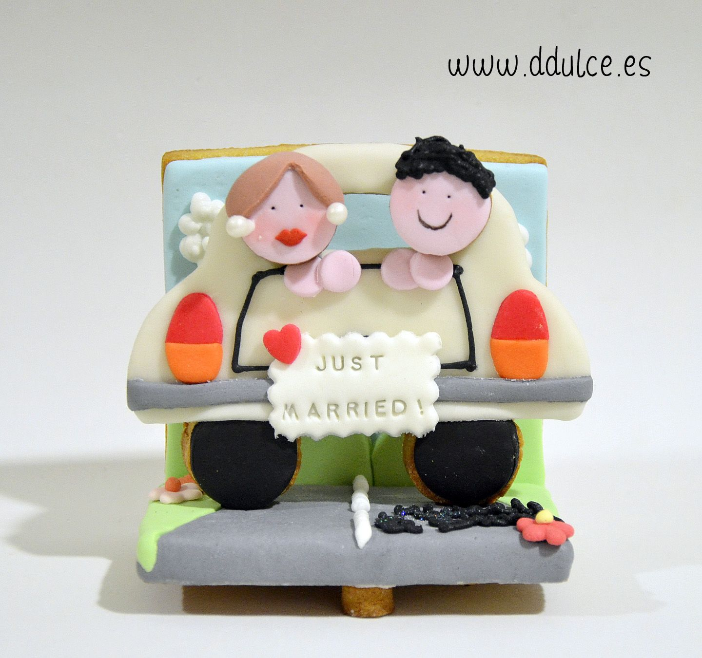 #galletadiorama #modelcookie #reciencasados #justmarried #boda #wedding #ddulcedulcesdetalles