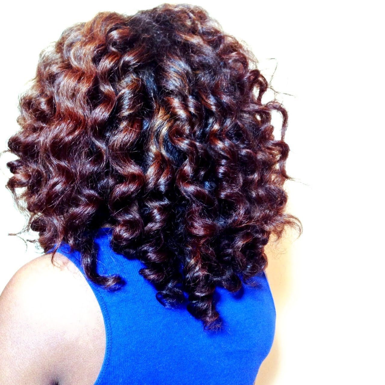 Beach Waves On Natural Hair Minimal To No Heat Flexi Rods Www