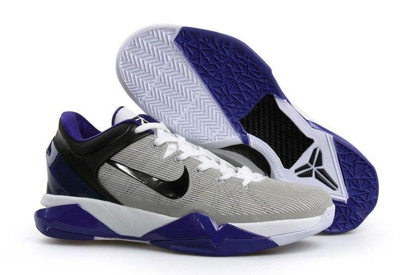 1920a308e8f7 ... cheap nike zoom kobe vii mens basketball shoes grey black blue  martbasketball fa0ec c403c