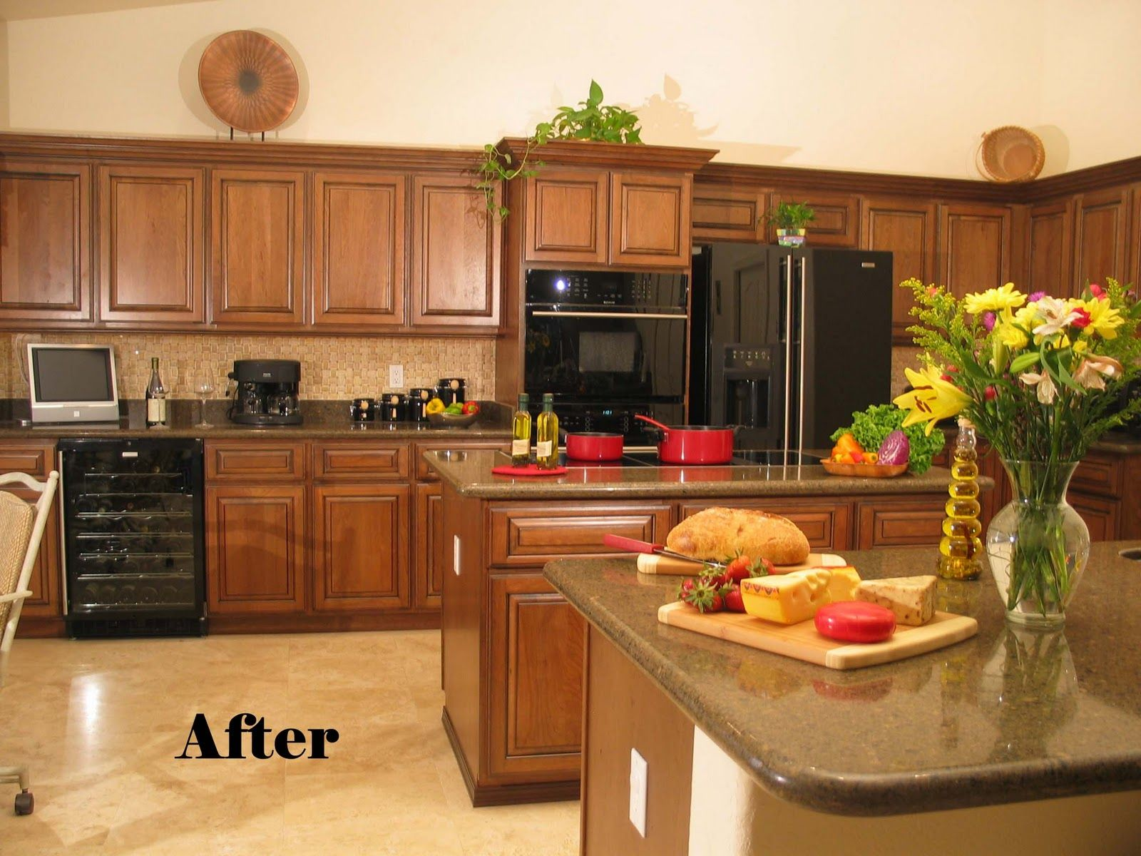 Refinish Kitchen Cabinets Cost Kitchen Design Ideas Refinish Kitchen Cabinets Kitchen Refinishing Refinishing Cabinets