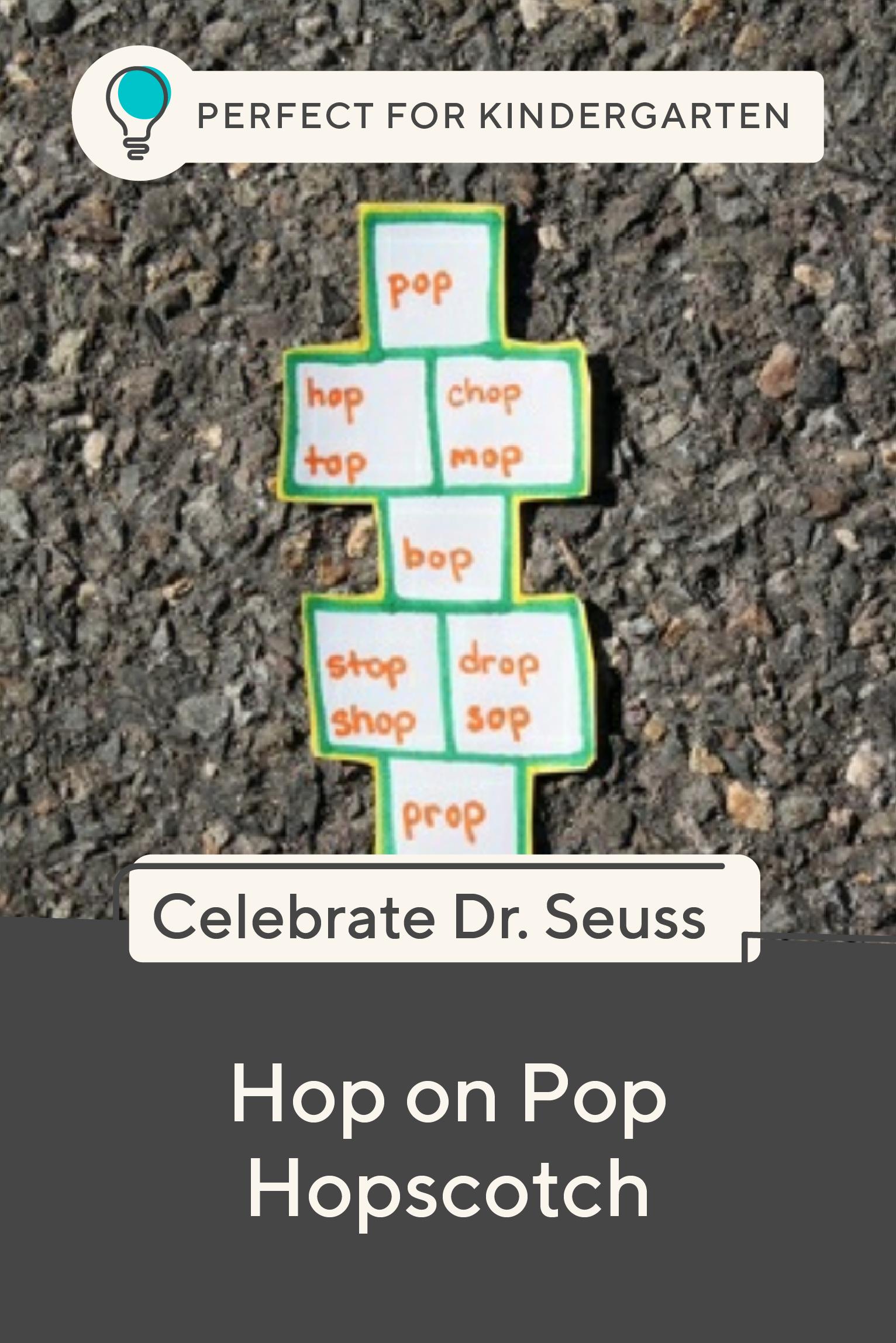 Hop On Pop Hopscotch