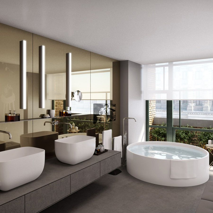 Cool Bathroom in W Amsterdam vossy.com (With images ...
