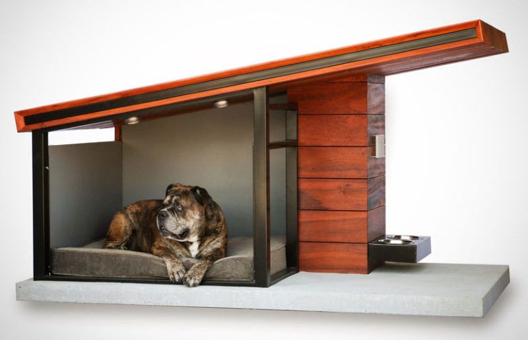 This Modern Dog House Is Designed To Fit Your Home's Aesthetic