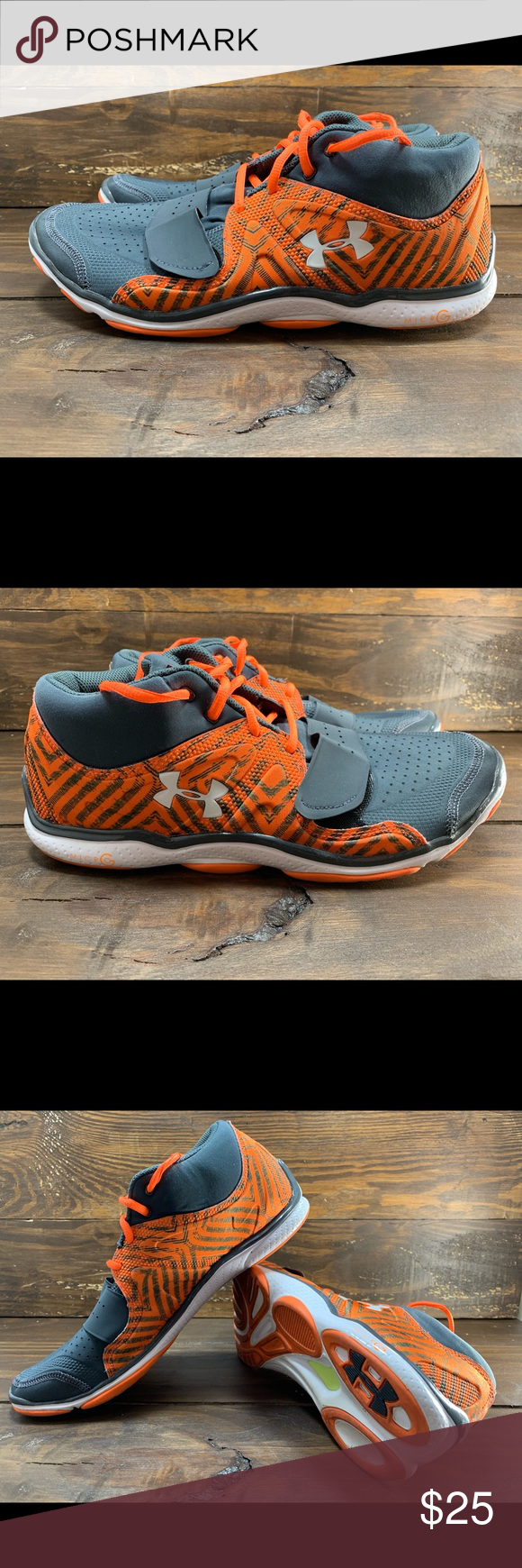 Under Armour Micro G Men's Running Shoe Slightly used (worn
