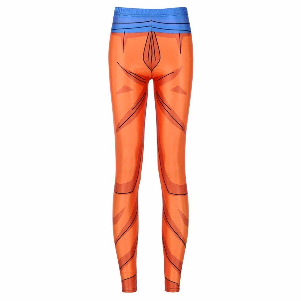 7e9e254aedb Girl Dragon Ball Z Super Compression Pants Cosplay Printed | Fandom ...
