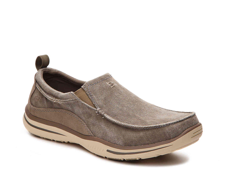 Relaxed fit drigo slipon sneaker mens slip on sneakers