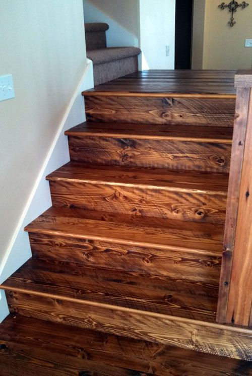 Reclaimed Wood Staircase   Google Search