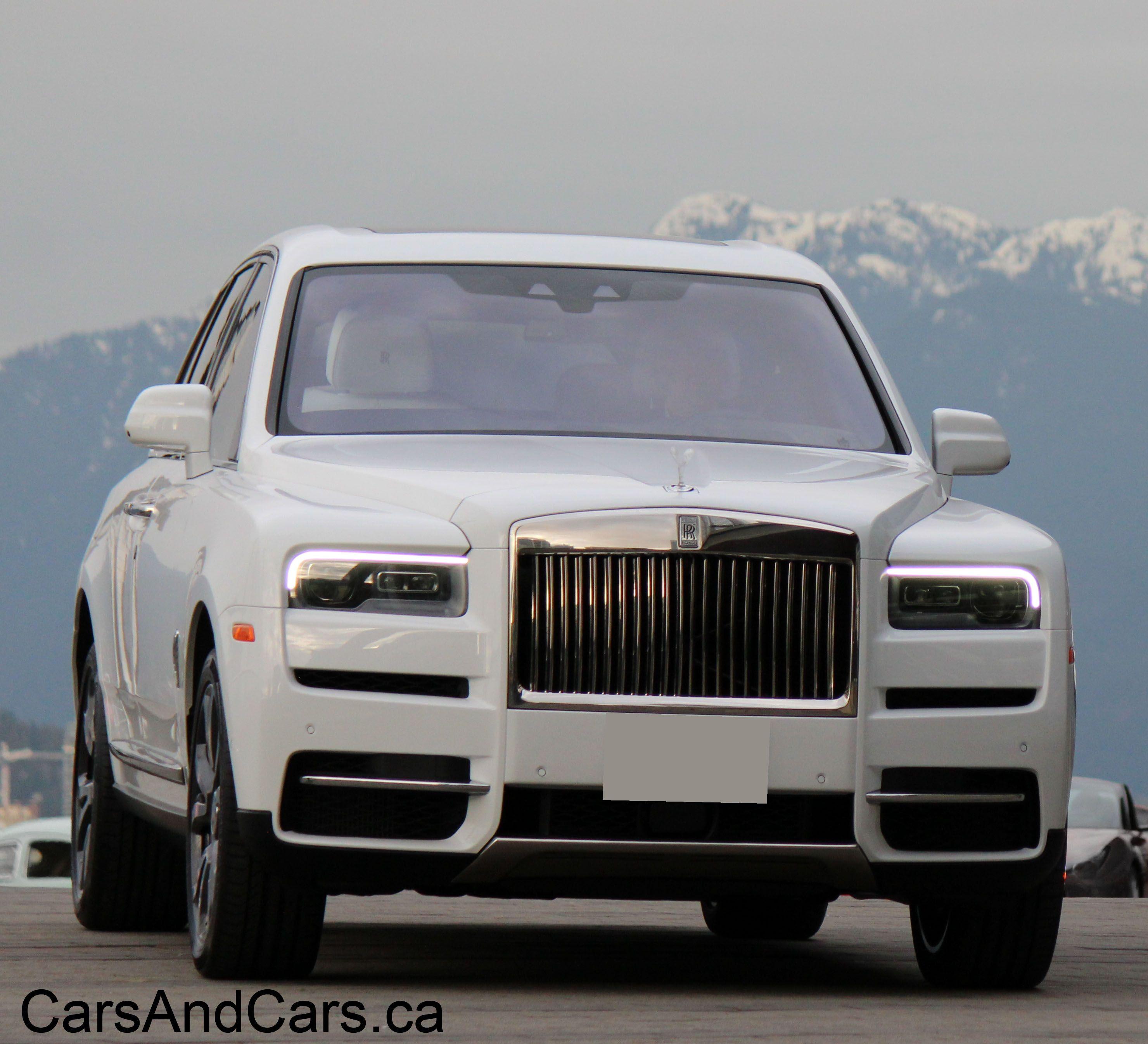 Used Rolls Royce For Sale >> Rolls Royce Cullinan Supercar Canada Carsandcars Ca