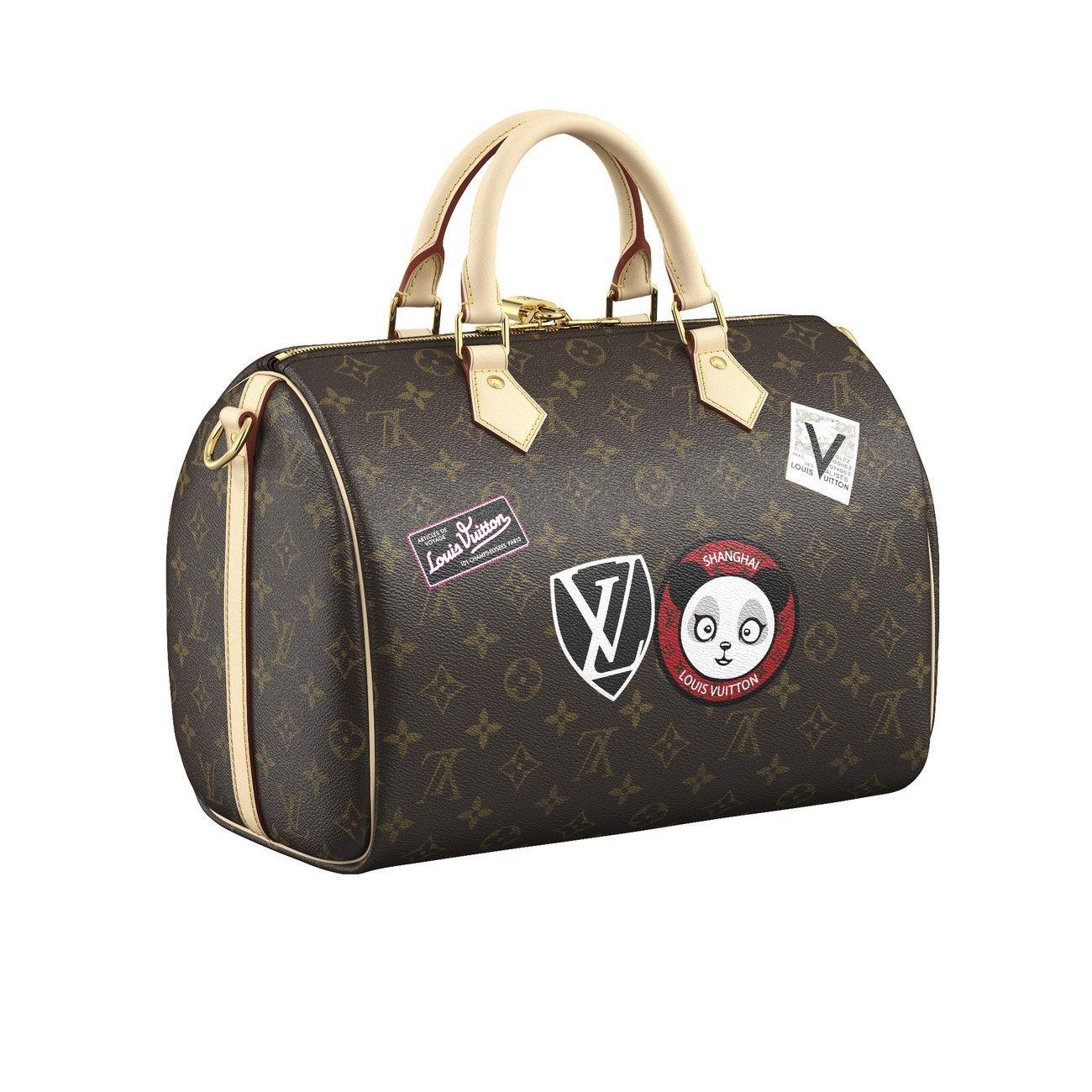 4ae4fbc0cf Speedy Bandoulière 30 MY LV WORLD TOUR in 2019 | Pretty handbags ...