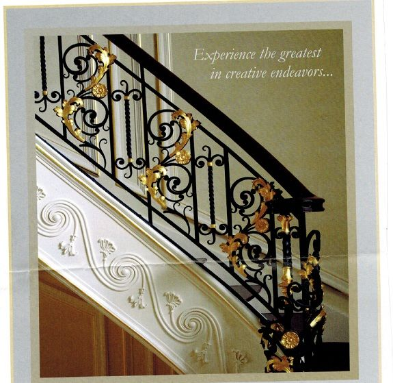 A Blog Reader S Wrought Iron Staircase Dream Come True Wrought