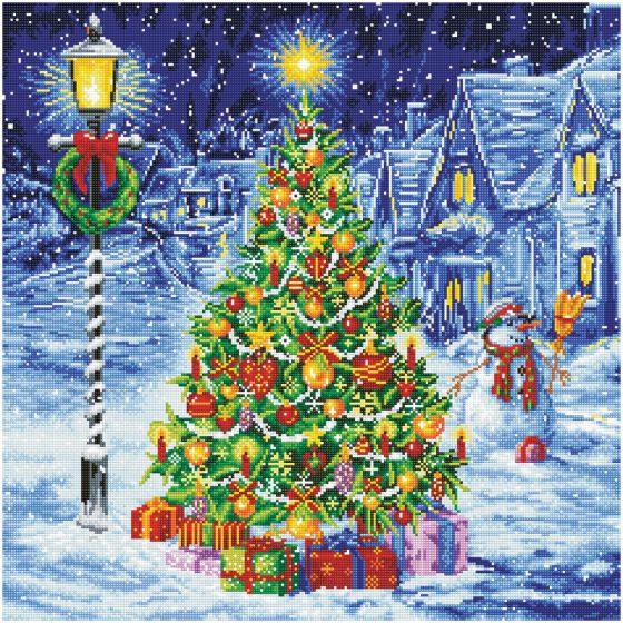 Oh Christmas Tree Diamond Dotz Crafts Christmas Tree Embroidery Kits