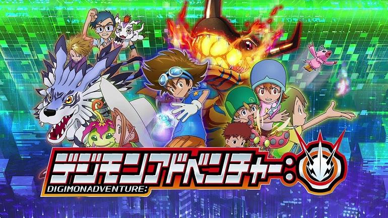 Digimon Adventure Novo Reboot do Anime Anunciado em 2020