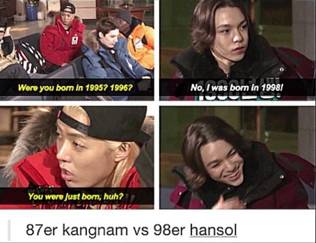 M I B Kangnam vs Seventeen Vernon   K-everything in 2019   Seventeen
