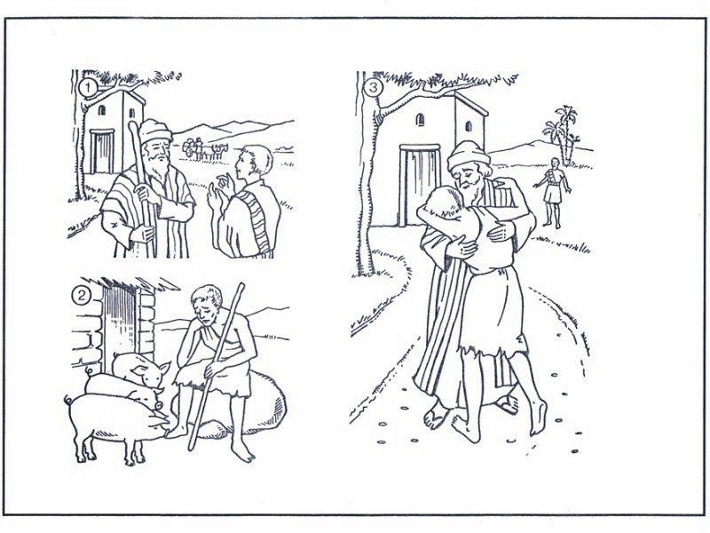 Perfecto Dibujos Para Colorear Gratis Para Escuela Dominical Patrón ...