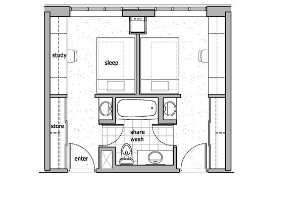 Pin By R W On Student Accommodation Student Room Hotel Room Design Dormitory Room