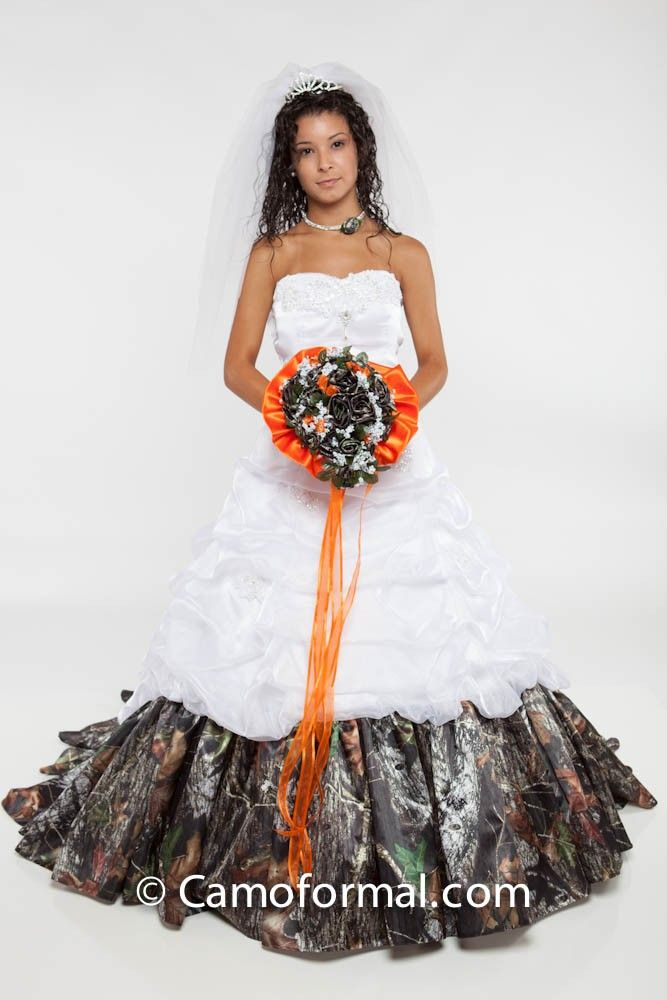 camo lingerie wedding | ... Oak New Breakup Attire Camouflage Prom ...