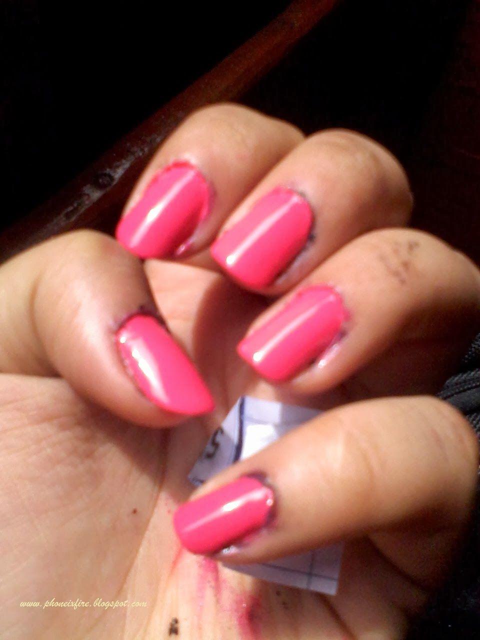 streetwear. #nail polish, #neon #pink #nails | Black Beauty ...