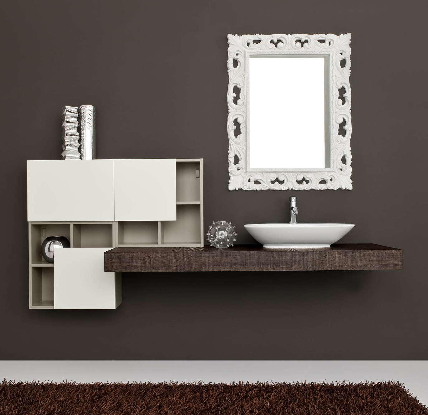 Modern bathroom design @ http://www.lops.it/prodotti/Bagni/Arredo+ ...