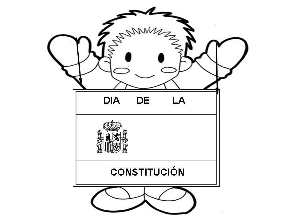 Cuento De La Constitucion Espanola Para Ninos Dibujos Para Colorear Constitucion Para Ninos Dia De La Constitucion Constitucion