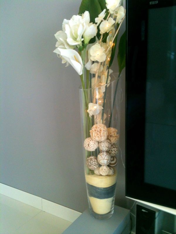 déco grand vase verre | for the home | pinterest