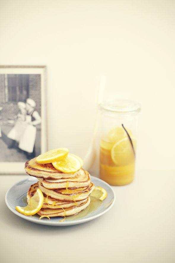 Orange Pancakes | Nicky